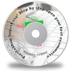 buy DVD prestashop beginner tutorial