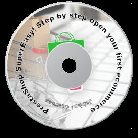 buy DVD prestashop beginner tutorial