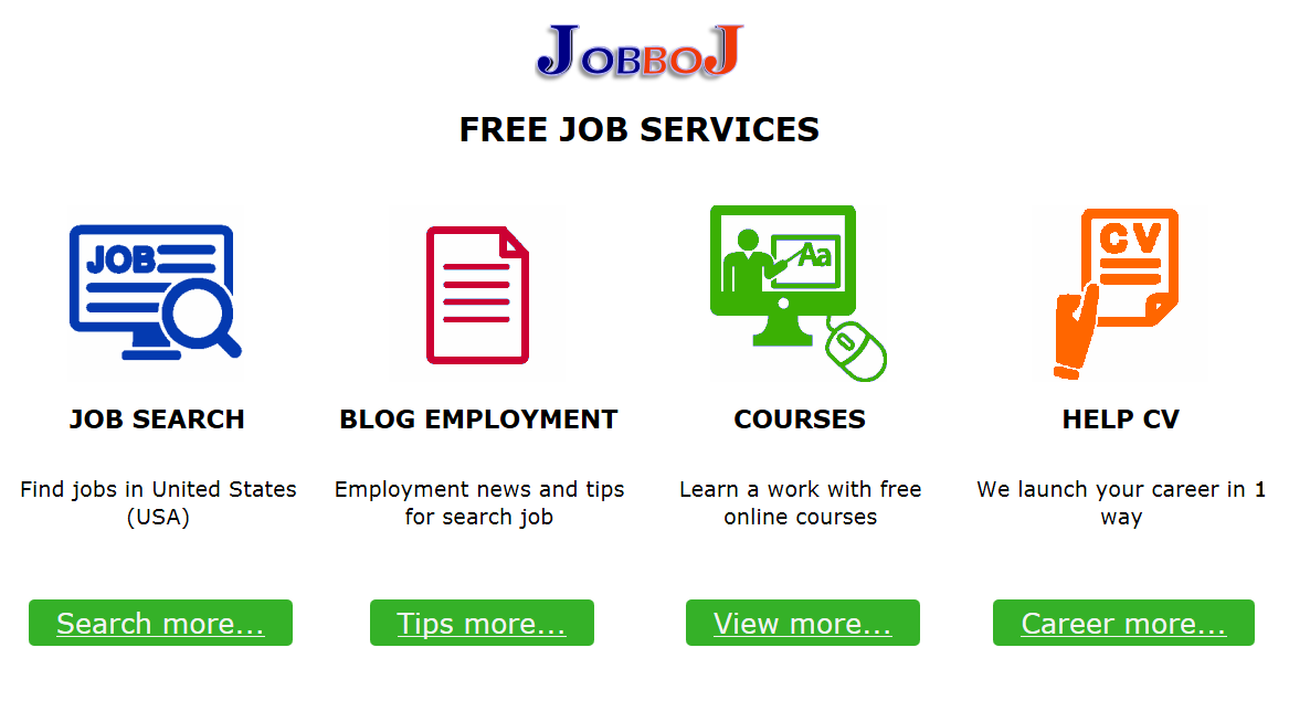 Attractive USA Jobs | JobboJ